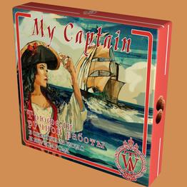 Мой капитан Трюфели ручной работы со вкусом рома тм World & Time 160г