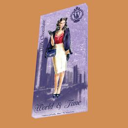 Шоколад темный,100 г World & Time