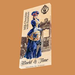 Шоколад темный с фундуком,100 г World & Time