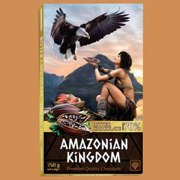 Королевство Амазонок шоколад горький