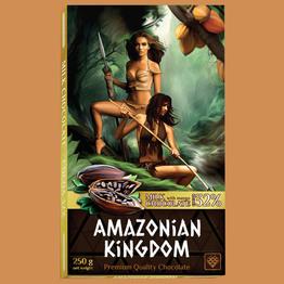 Королевство Амазонок шоколад молочный с натур манго