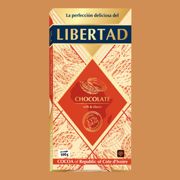 Либертад Шоколад молочный