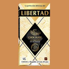 Либертад Шоколад молочный с кофе