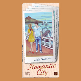 """Romantic city"" Молочный"
