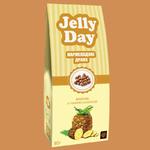 Jelly Day драже - мармелад со вкусом ананаса в темном шоколаде