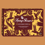 Конфеты Spring Flowers из темн. и мол. шоколада с карам. и ирис. начинками и тофи