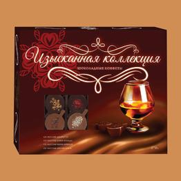 Изысканная колекция Шоколадные конфеты ассорти