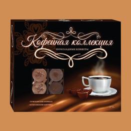 Кофейная коллекция Шоколадные конфеты ассорти