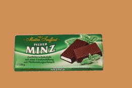 Maitre Truffout Темный шоколад с мятным кремом плитка 100г