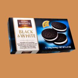 Feiny Biscuits Печенье Белое и Черное (Black & White)
