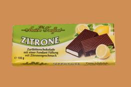 Maitre Truffout Темный шоколад с лимонным кремом плитка 100г
