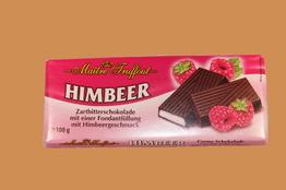 Maitre Truffout Темный шоколад с малиновым кремом плитка 100г