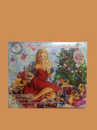 """Трюфели ручной работы со вкусом игристого шампанского""""С Новым годом и Рождеством"""" тм World & Time 160г"""