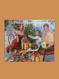 """Трюфели ручной работы в клубничной обсыпке """"С Новым годом и Рождеством """" от World & Time"""