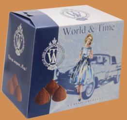 Трюфели ручной работы классические тм World & Time 160г