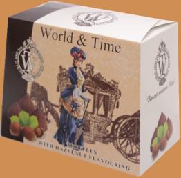 Трюфели ручной работы со вкусом лесного ореха тм World & Time 160г